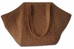 Genuine Leather Weaved Bag