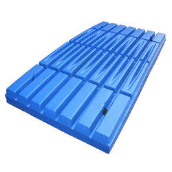 Blue Roljack Crusher Jaw Plate