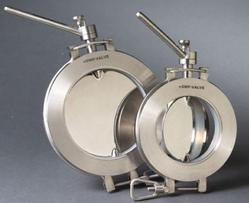 CGMP Sandwich Butterfly Valves