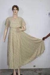 Designer Printed Maxi Dress