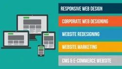 Basic Business Site Corporate Website Designing Services, Responsive, Logo Design