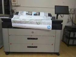 Ink Jet Color HP Designjet XL 3600 MFP, 600 Dpi, 180 A1 Per Hour
