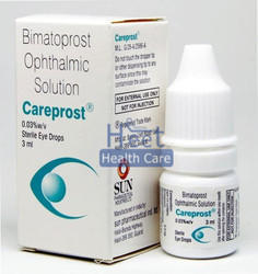 Careprost Bimatoprost Ophthalmic Solution, Packaging Type: Bottle