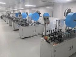 BluMac Automatic Surgical Face Mask Making Machine