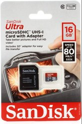 Sandisk 16 GB Memory Card Class10