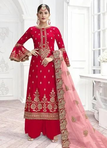 262becfc25 Palazzo Suits - Wedding Wear Palazzo Salwar Suits Manufacturer from ...