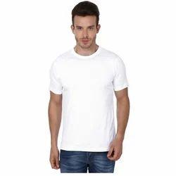 Mens Plain Polyester T Shirt