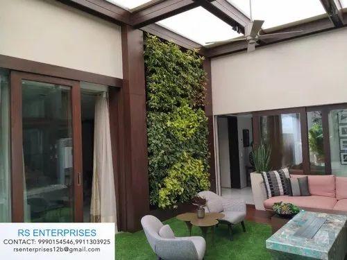 Vertical Green Wall Indoor Vertical Garden Manufacturer From New