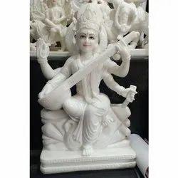 Sitting Saraswati Statue