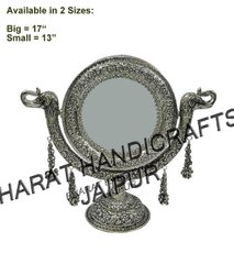 Silver Plated Jewellery Mirror