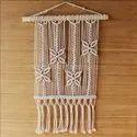 Customized New Style Handmade Art 100% Cotton Woven Macrame Wall Hanging
