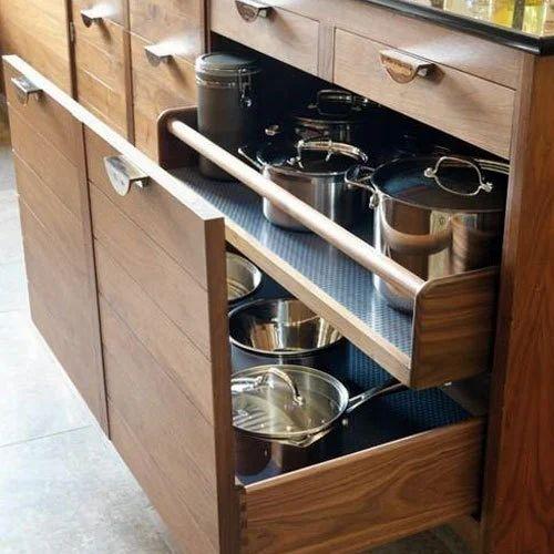 Modern Modular Kitchen Cabinet Rs 1250 Square Feet Master