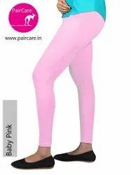 Churidar Plain PairCare - Premium - Ankle Leggings - 4 Way Stretchable - Lycra Cotton