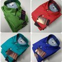 Arrow Plain Preminum Cotton Shirts