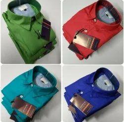 Collar Neck Formal Wear Arrow Plain Preminum Cotton Shirts