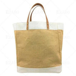 Ezaro Brown Jute Grocery Bag