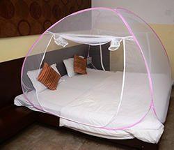 Pink Mosquito Net