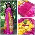Printed Chiffon Saree