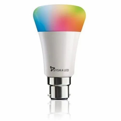7 W Syska Rainbow LED Bulb, LOW