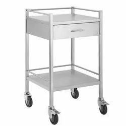 Power Coated Drug Trolley