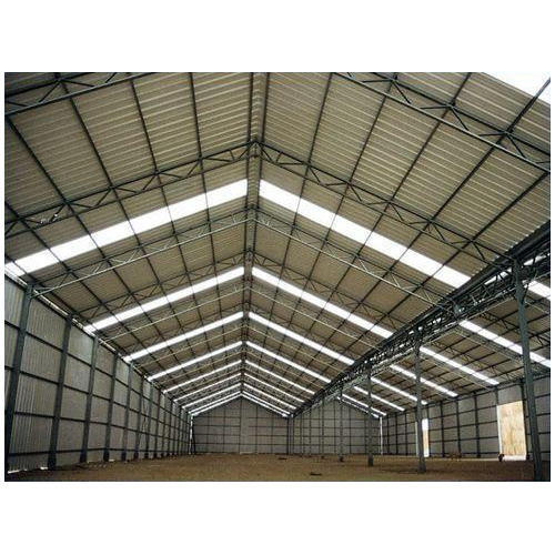 FRP and Mild Steel Industrial Shed Fabrication Service in Delhi NCR