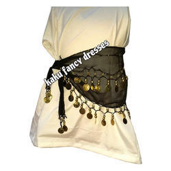 Kids Belly Black Dance Belt