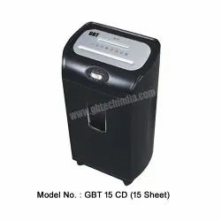 GBT 15CD Paper Shredder