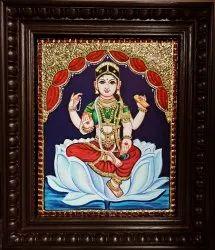 Bala Tripurasundari Tanjore Painting