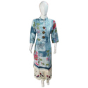 Ladies Printed Rayon Party Wear Kurti
