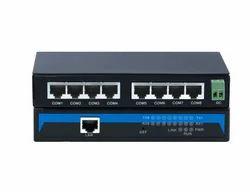 8-Port RS232/485/422 to Ethernet Server
