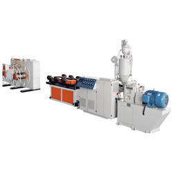 PP, PE, PVC Single Wall Corrugated Pipe Production Line