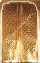 Traditional Design Carved Door