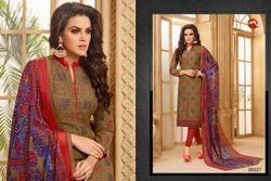 3/4 Sleeve Sachika Salwar Suit Fabric