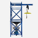 Construction Builder Hoist Machine