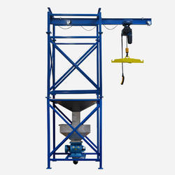 Construction Builder Hoist Machine