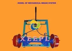 Cut Section Model of Mechanical Brake System