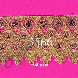 Modern And Stylish Sequence Zari Lace