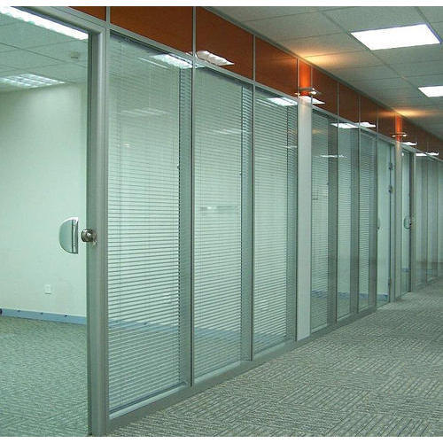 Plain Transparent Glass Door Partition Shape Rectangular Rs 210