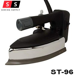 BLACK AND SILVER Shilter (St-96) Electric Steam Iron 1200W, For DOMESTIC AND INDUSTRIAL, Model Number: ST-96