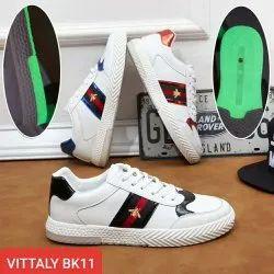 Vittaly White China Canvas Shoes, Size: 40-44