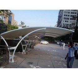 Outdoor Car Parking Tensile Structure