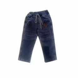 Plain Lakshya Gold Kids Fancy Joggers Jeans
