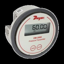 Dwyer Differential Pressure Gauge/Switch - DH3 Series