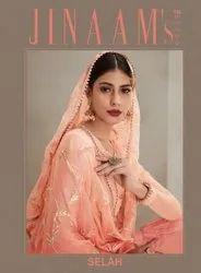 Designer Sharara Suit Jinaam's Selah