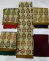 Casual Regular Cotton Traditional Thread Work Suits