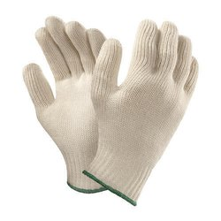 Full Finger Cotton Knitted Gloves