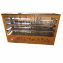 Stainless Steel Vada Pav Display Counter