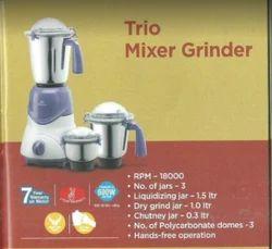 Trio Mixer Grinder