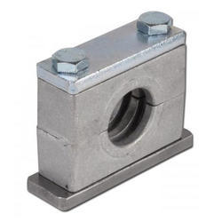 Polished Aluminium Tube Clamps for Industrial