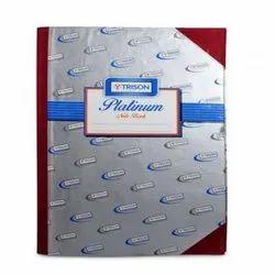 TRISON PLATINUM NOTEBBOK (144 PAGES)